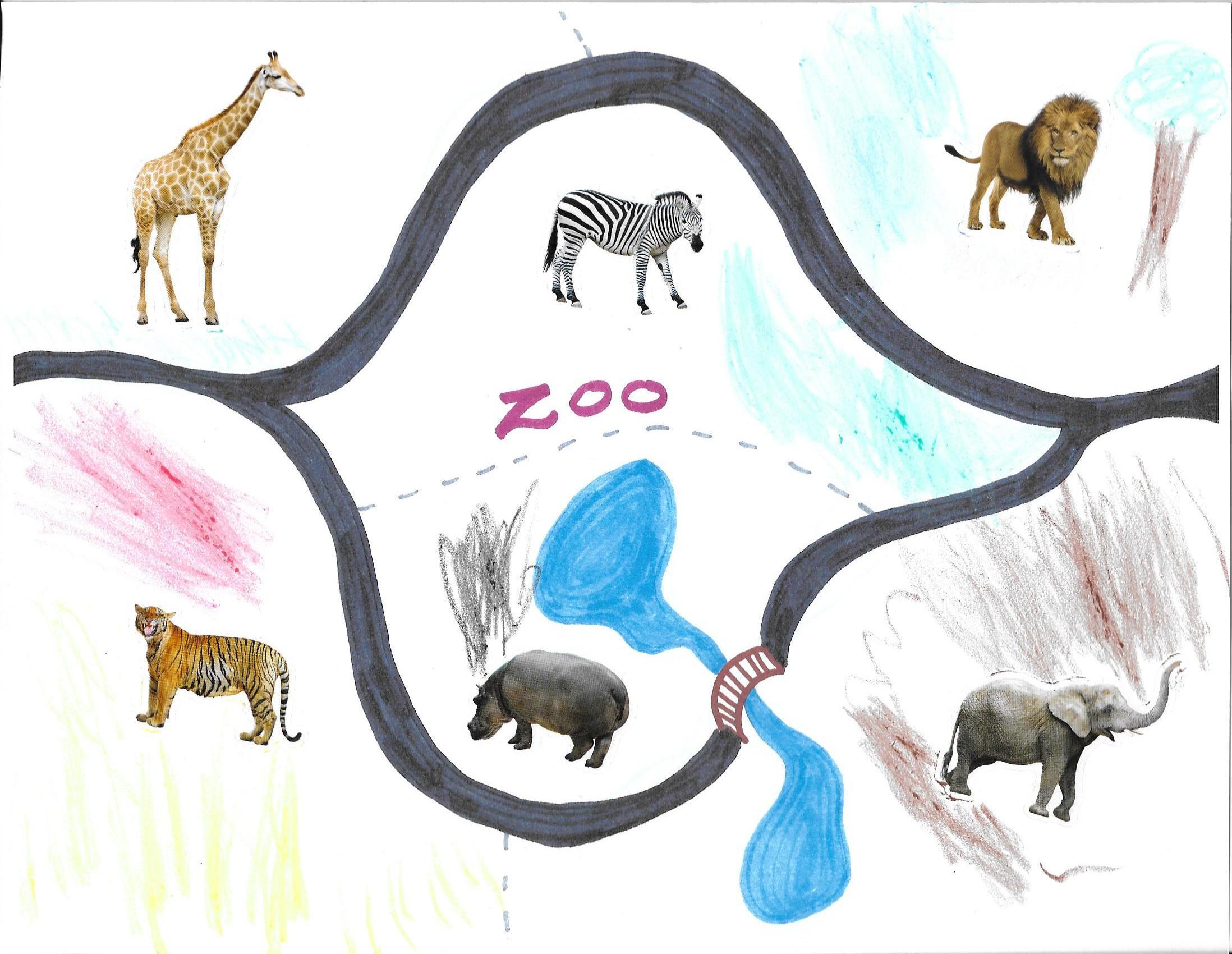 Zoo Karte KMR GitA