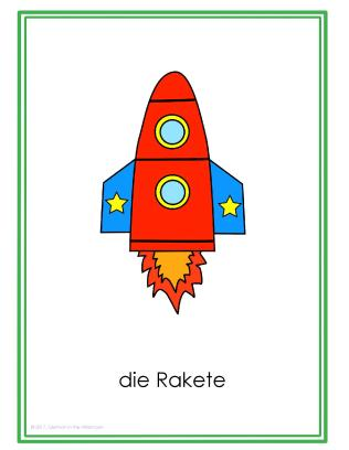 Fahrzeuge Posters GitA-Rakete