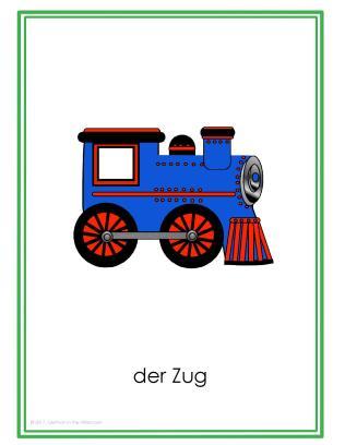 Fahrzeuge Posters GitA-Zug