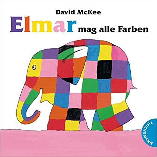 Teaching Colors with Elmar dem Elefanten