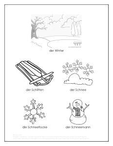 Winter Wortschatz Malvorlage GitA-page-001