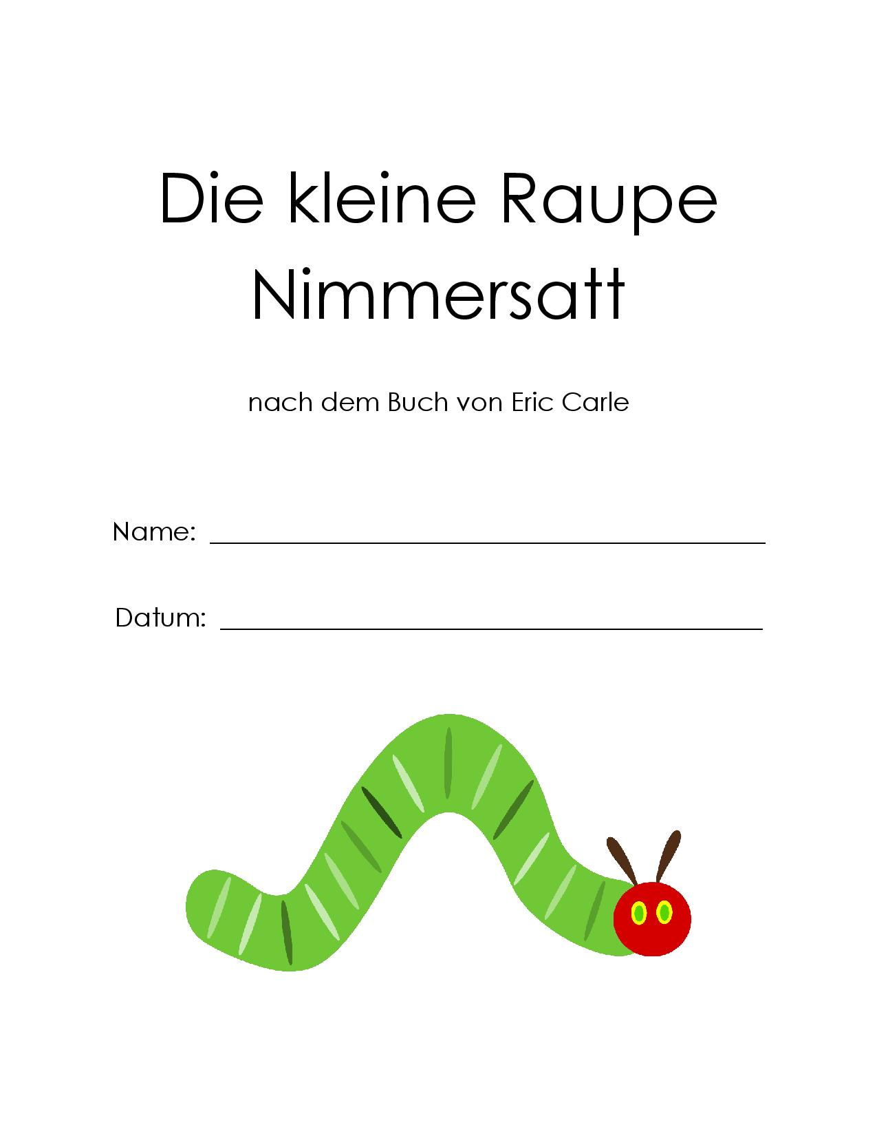 Story Listening The Hungry Caterpillar German In The Afternoon