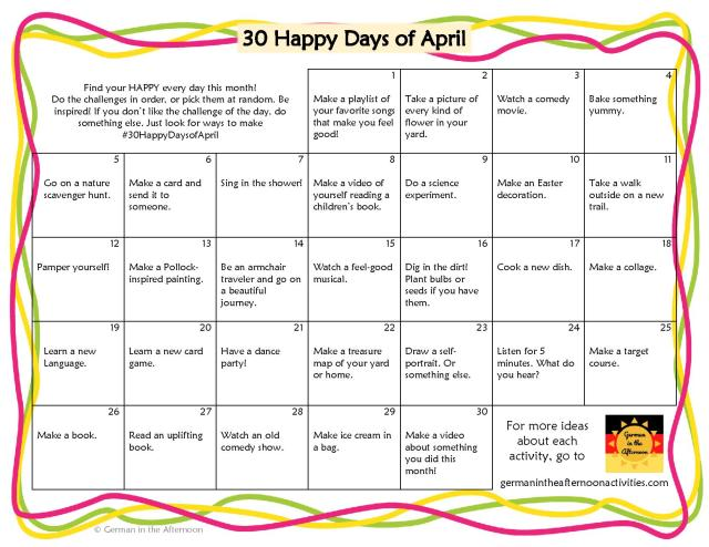 30 Happy Days of April-page-001